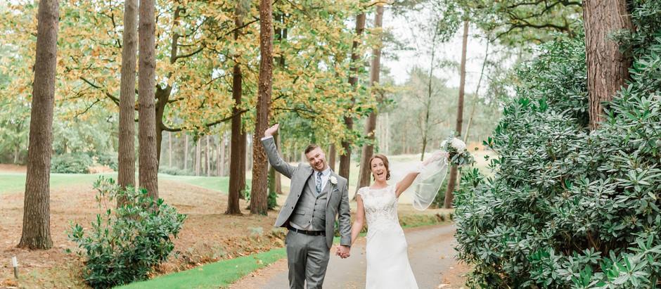 Mr & Mrs Wheatman - What a 'covid wedding' really looks like...