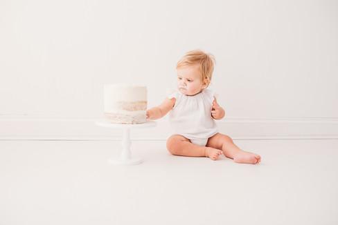 cake smash photography berkshire