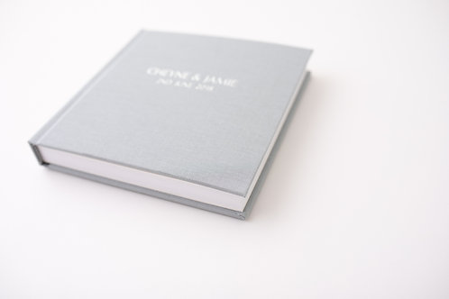 20x20 Fine Art Linen Embossed Cover Album - 30 pages