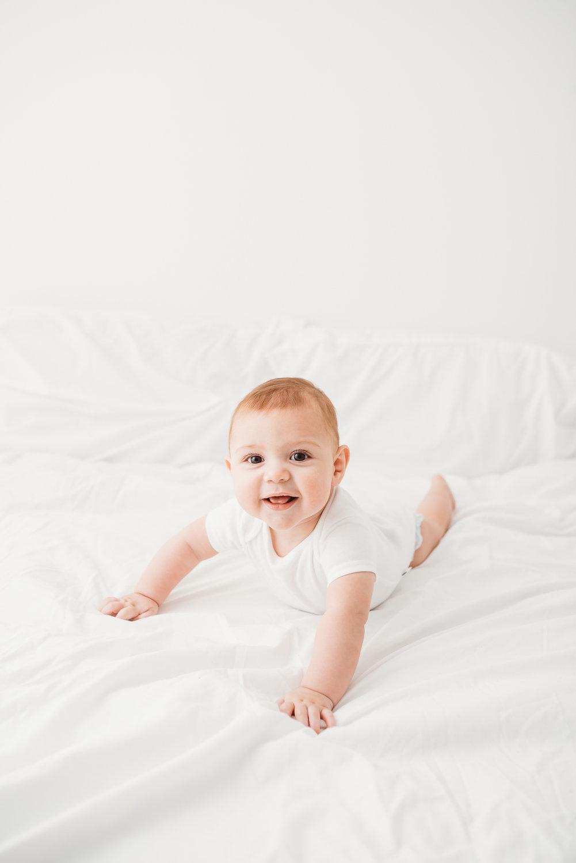 Sitting Baby Photoshoot