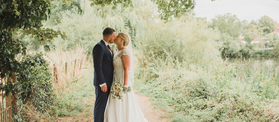 Hannah & Dean // The Great House in Sonning // August 2019