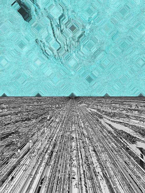"""Vertigo At Sea, 11"""" x 14"""" giclee print"""