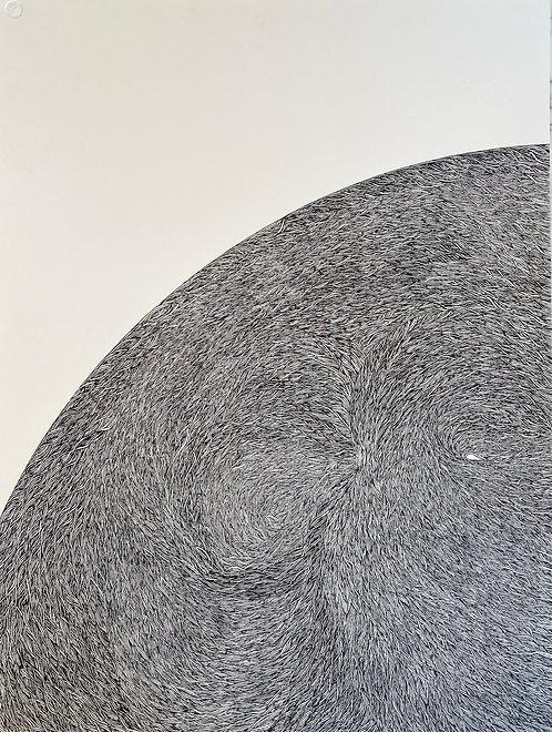 "A Quarter Of A Moon, 30"" x 40"" giclee print"