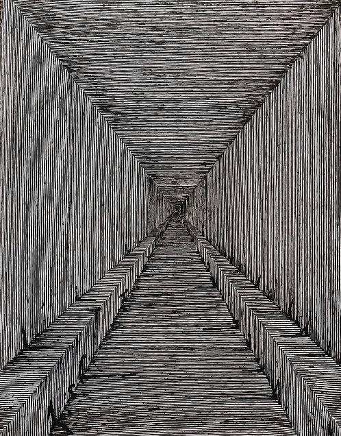 "Another Hallway, 11"" x 14"" giclee print"