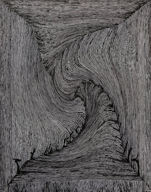 """Wormhole Without An Exit, 11"""" x 14"""" giclee print"""
