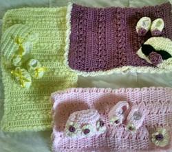 Carol Baby Blanket sampler