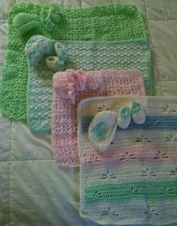 Carol's Baby Blanket sampler 2