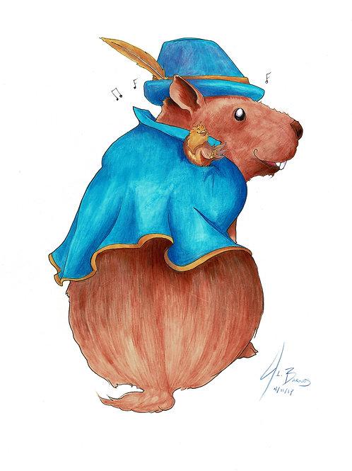 Niles, Gentleman Capybara