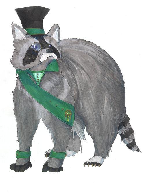Von Schnitzelfritz, Gentleman Raccoon