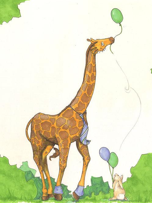 Edgar, Gentleman Giraffe