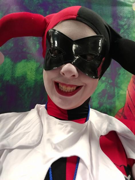 COS Comic Con 2018 - Animated Harley