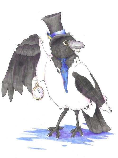 Merriweather, Gentleman Hooded Crow