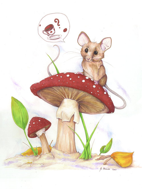 Tea House Mouse