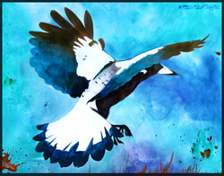 FishWithATopHat - Magpie Sky