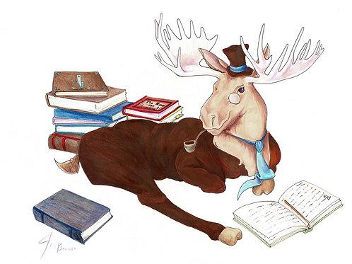Reginald, Gentleman Moose