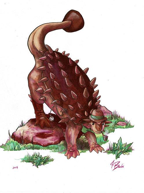 Dappersaurus - Ankylosaurus