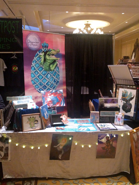GalaxyFest 2019 - Booth from the Side
