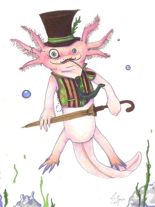 Zeus, Gentleman Axolotl