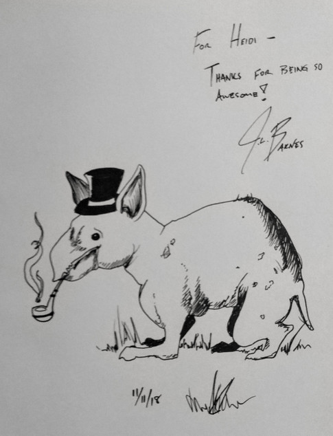 Daku Con 2018 - Sketch 1