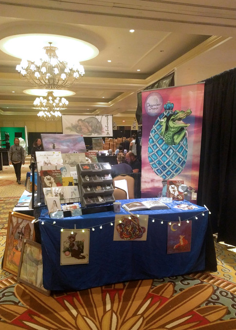 GalaxyFest 2019 - Booth from the Front