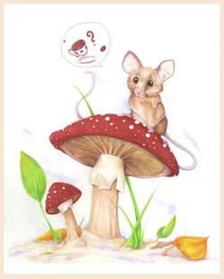A Little Tea Mouse 8x10