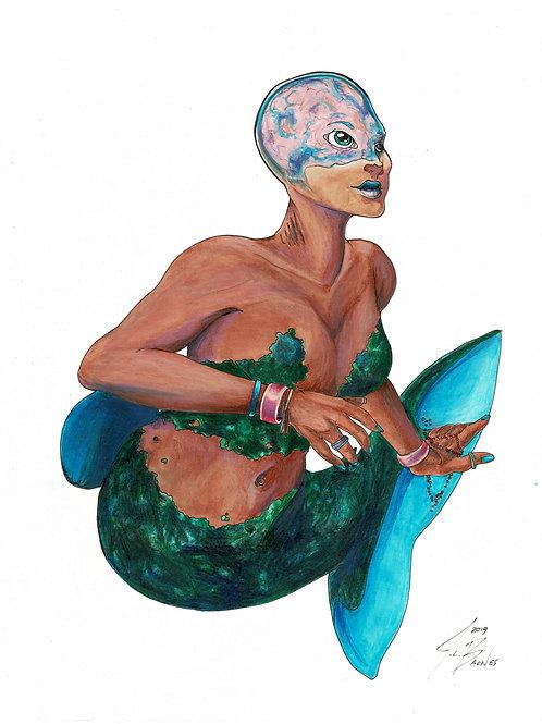 Barreleye Mermaid