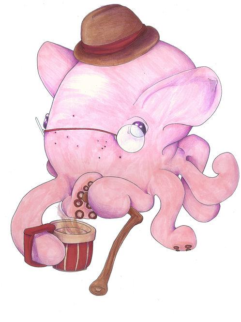 Quincey, Gentleman Octopus