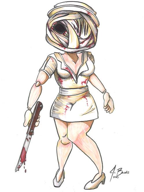 Silent Hill Bloody Nurse (Chibi)