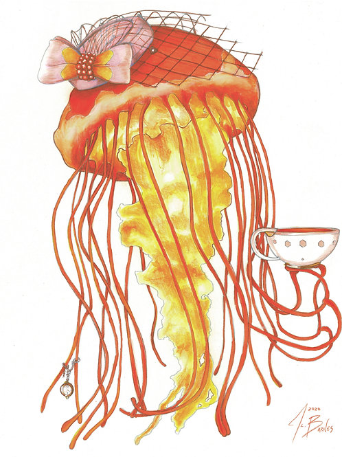 Everleigh, Lady Jellyfish (Lady Animals Series)