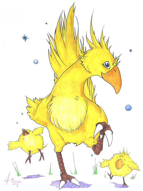 Chocobo Dance