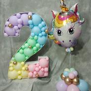 Pastel unicorn 2 up