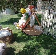 Boho organic garland