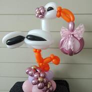 Stork - girl