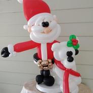 Santa & bear