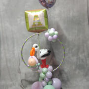 Stork Hoop Baby Shower