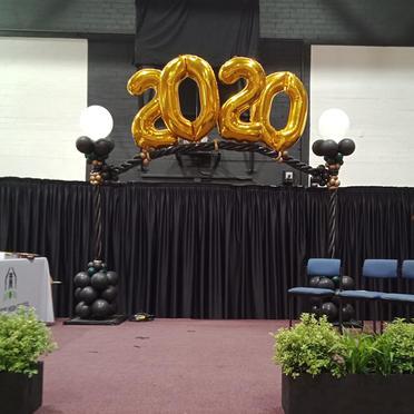 Mulwaree High 2020 arch