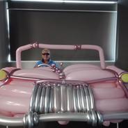 Pink Caddilac