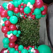 magenta & wintergreen arch
