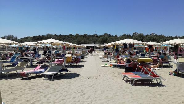 Coya Beach - Spiaggia Casalborsetti - Stabilimento balneare