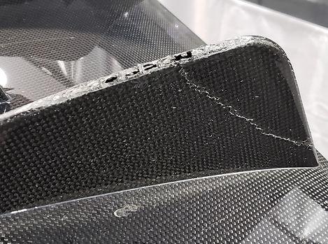 Ferrari 488 Pista diffuse damage