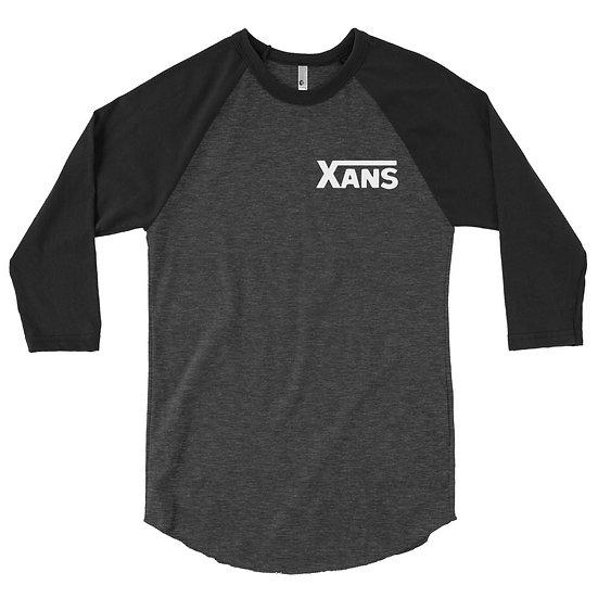 Xans raglan shirt (white font)