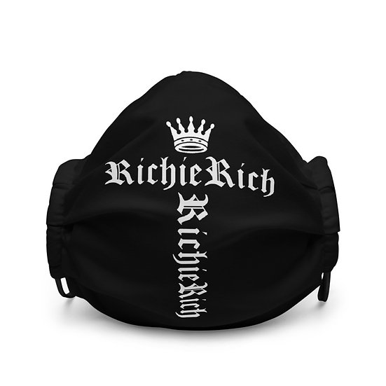 Richie Rich Crown Limited Face Mask
