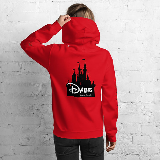 Dabs Anaheim by pusher RX Hoodie (black font)