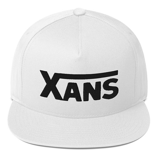 Xans Snapback (black font)