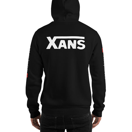 Xans by pusher RX Hoodie (white font)