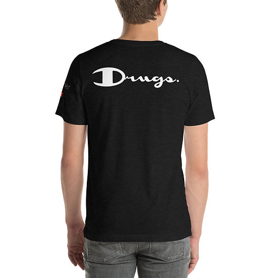 Champion Drugs White Logo T-Shirt