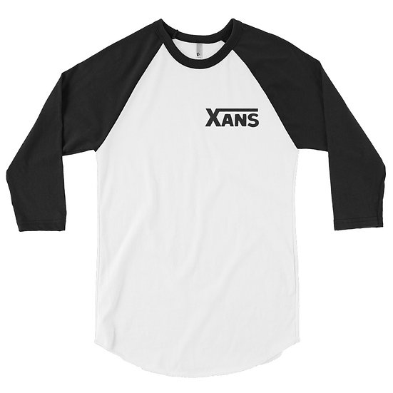Xans raglan shirt (black font)