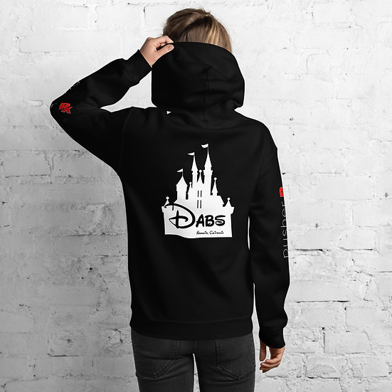 Dabs Anaheim by pusher RX Hoodie (white font)