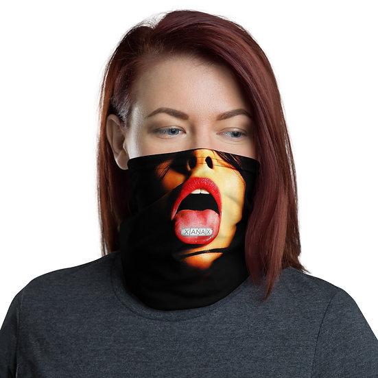 Mouth Open Xans Female Neck Gaiter