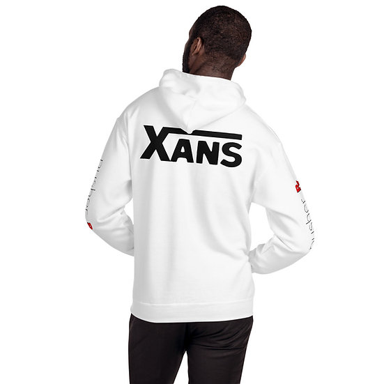 Xans by pusher RX Hoodie (black font)